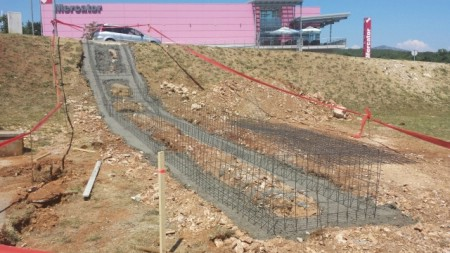 Izgradnja novog stepeništa prema Mercatoru