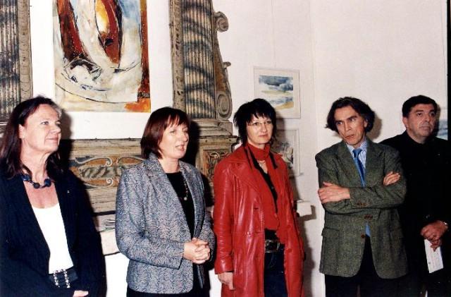 Otvorena skupna  izložba sudionica II. Istarskog simpozija Galerije «Payer» u Galeriji Alvona