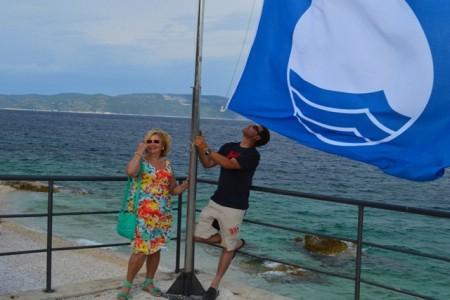 Plave zastave trinaestu godinu vijore rabačkim plažama