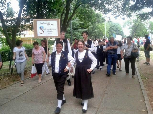 Na 11. susretu Fažanski tanac i najmlađi folkloraši s Labinštine