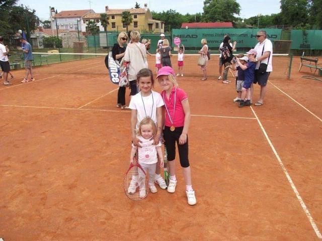 Najmlađe tenisačice TK Rapca bez poraza u Poreču