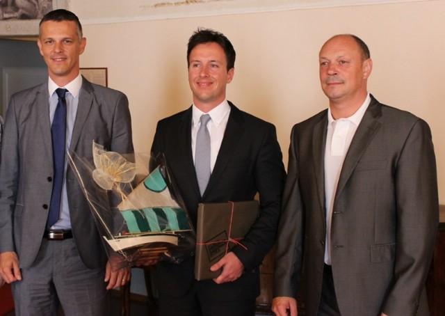 Župan Flego i gradonačelnik Sponza primili najboljeg mladog znanstvenika Marinka Radea