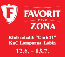 FAVORIT ZONA - BRASIL EM LABIN! @ KUC LAMPARNA, RUDARSKA 1, LABIN (OSMINA FINALA)