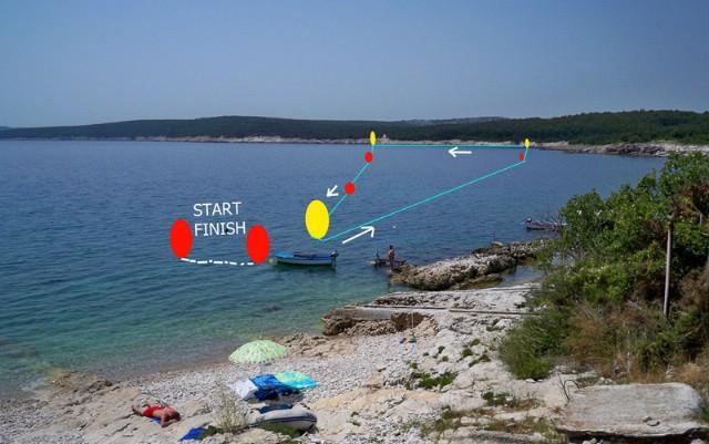 U Koromačnu 3. Plivački maraton Raša