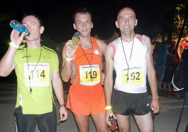 Ivan Stanić i Sandi Lukšić na noćnoj utrci na Bledu