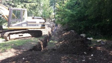 U tijeku izgradnja dopunskog vodovodnog priključka za odjel dijalize Doma zdravlja Labin