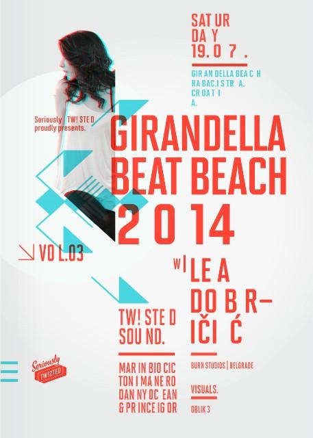 VEČERAS GIRANDELLA BEAT BEACH vol.03 w/ LEA DOBRIČIĆ (Winner of Burn Studius residency contest 2013)