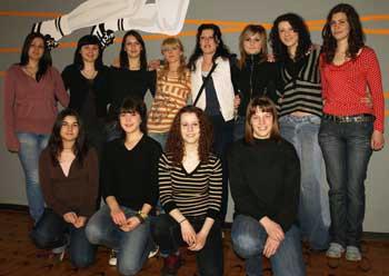 Labinske srednjoškolke prve na županijskom natjecanju u rukometu