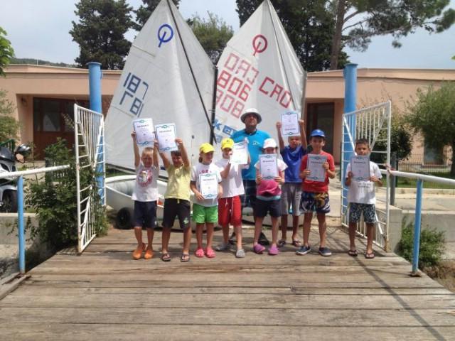 Završila još jedna Škola jedrenja za djecu u organizaciji JK Kvarner