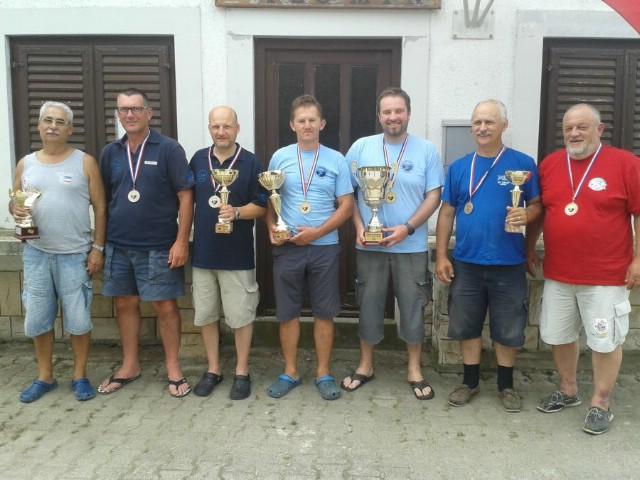 Održano natjecanje u sportskom ribolovu Trofej Plomin 2014.  - Pobjeda domaćina s ulovljenom 81 ribom