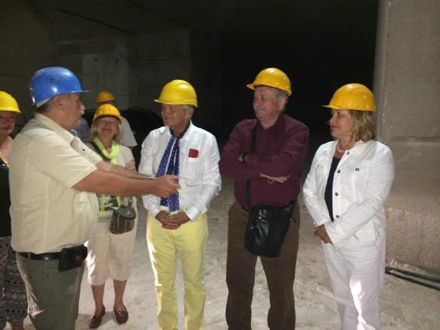 Počasni konzul  Hrvatske u Poljskoj Andrzej Żylak razgovarao s labinskim gradonačelnikom o projektu `Podzemni grad`