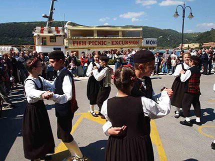 Gran premio di folklore - Međunarodna smotra folklora 19. - 21. 9., Rabac