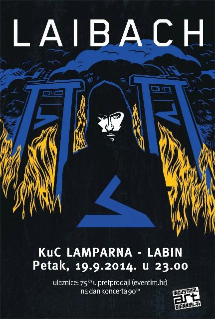 Glazbeni dio Bijenala industrijske umjetnosti započinje koncertom Laibacha, nastavlja se koncertom Autopsie, a završava eventom Žive Muzike