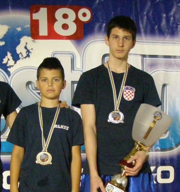 Labinjani bez odličja na Svjetskom prvenstvu u kickboxingu za kadete i juniore u Riminiju