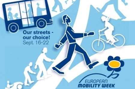 Aktivnosti Europskog tjedna kretanja tokom nadolazećeg vikenda