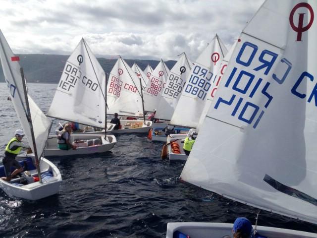 Uspješna Rabačka regata 2014. - Inga Kos prva u klasi Laser Radial - djevojke