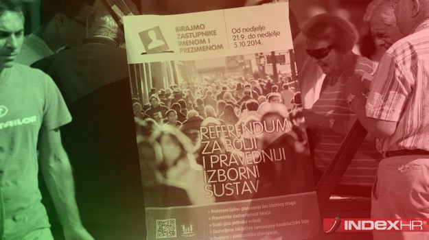 [Infografika] Referendum: Za ili Protiv / potpisi se prikupljaju i na području Labinštine