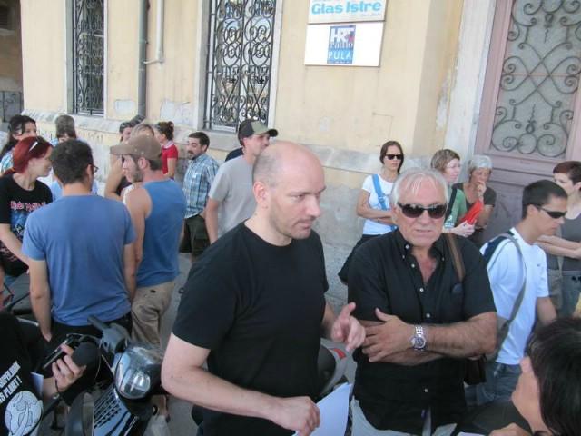 Uprava Glasa Istre prijavljena zbog kršenja Zakona o radu - Labinjan Adriano Šćulac protuzakonito zaposlen?