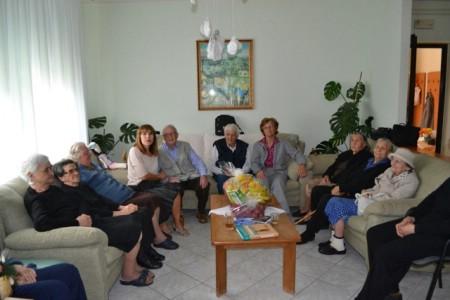 Zamjenica gradonačelnika Eni Modrušan posjetila Dnevni centar za starije osobe