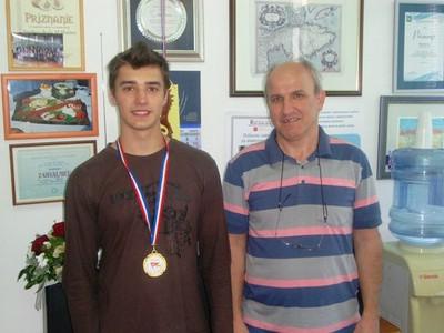 Nikola Benazić - zlatan na Izložbi mladih inovatora u Kastvu