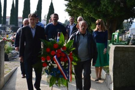 Položen vijenac u povodu Dana neovisnosti Republike Hrvatske