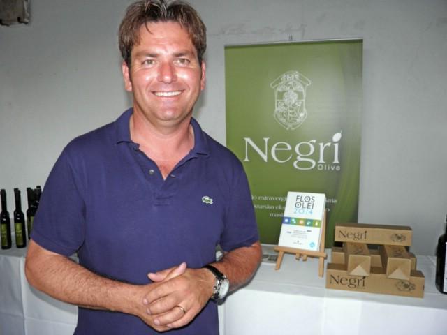 Labinski maslinar William Negri ipak zadovoljan ovogodišnjim urodom maslina