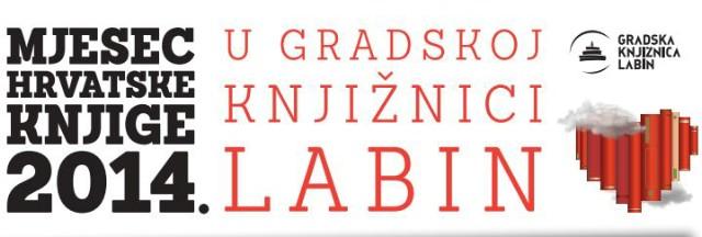 [PROGRAM] Mjesec hrvatske knjige u Gradskoj knjižnici Labin 2014.