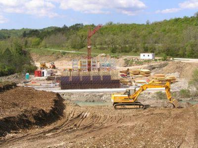 Početak završne faze obnove prometnice od Labina prema tunelu Učka: most preko Boljunčice