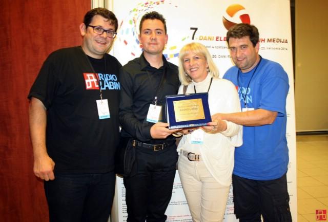 Radio Labinu nagrada za najbolji radijski jingl