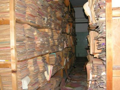 Sređivanje rudarske arhive u Labinu