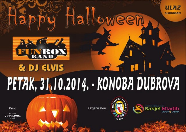 HaLLoWeEn pArTy @ Konoba Dubrova, Labin 31.10.2014. godine