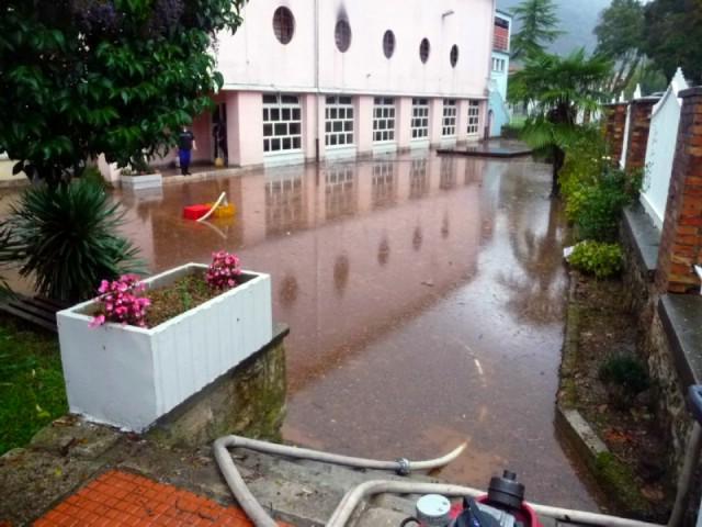 Obilna kiša stvara probleme