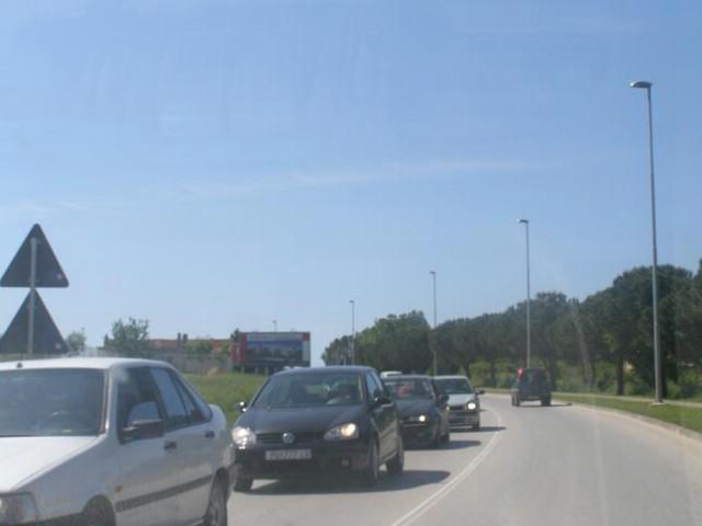 Istra - gužve u prometu, ispred tunela Učka kolona duga 1 km
