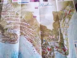 Izrađene mape Rapca