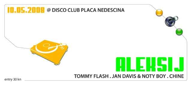 Dj Aleksij u klubu Placa