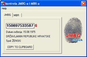 Od 2009. OIB umjesto JMBG-a