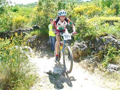 U 1. utrci za Kup hrvatske u brdskom biciklizmu,Andrea Kiršić treća