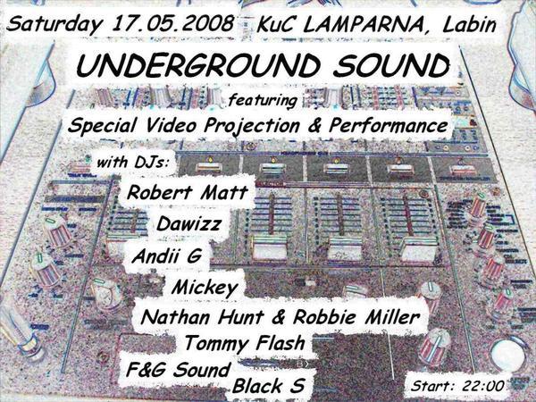 UNDERGROUND SOUND  @ Kuc Lamparna