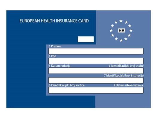 Prije putovanja po europsku zdravstvenu iskaznicu