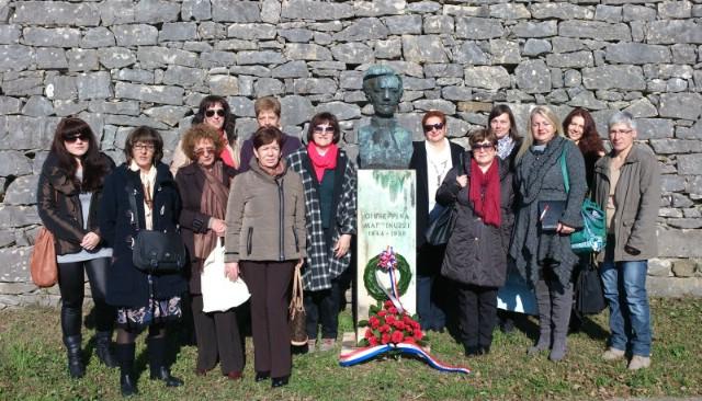 Položen vijenac povodom godišnjice smrti Giuseppine Martinuzzi