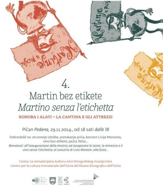 Martin bez etikete: Konoba i Alati u subotu u Pićnu