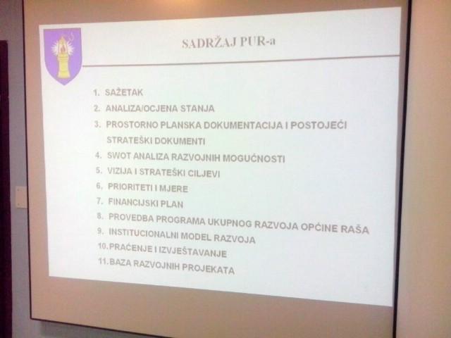 Općina Raša započela je s izradom Programa ukupnog razvoja (PUR) za razdoblje od 2014. do 2020. godine