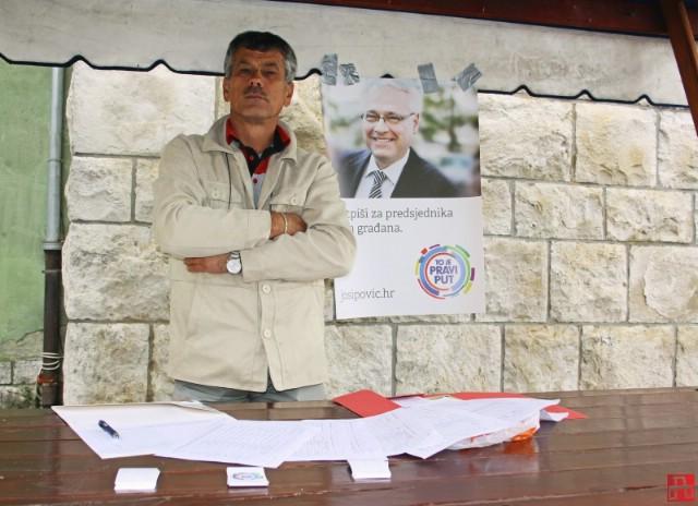 Prikupljaju se potpisi za kandidature Ive Josipovića, Kolinde Grabar Kitarović i Ivana Sinčića