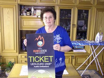 Još jedna dobitnica karata za Euro 2008 iz Labina