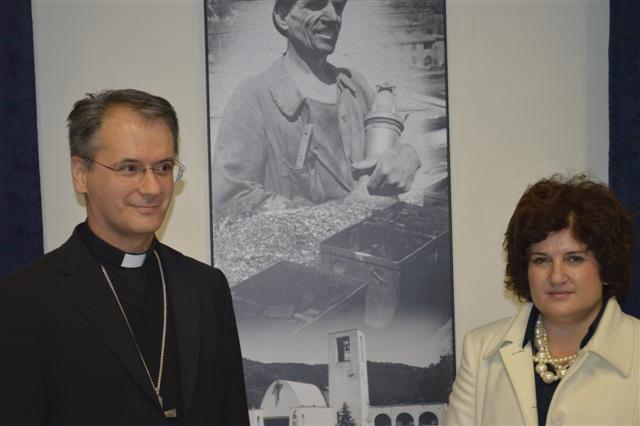 Prijem za biskupa Kutlešu u povodu blagadana sv. Barbare