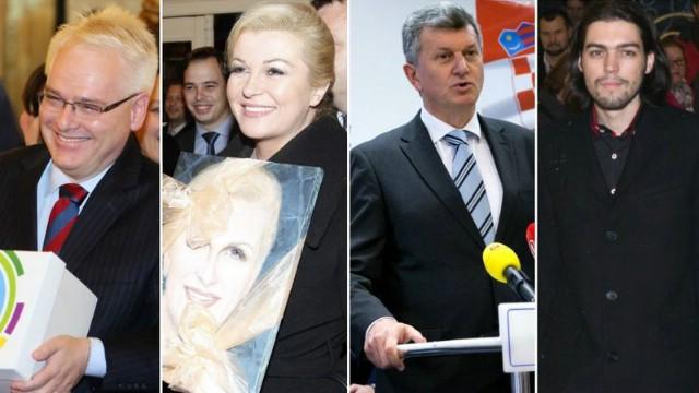 [Predsjednički izbori 2014.] Samo četiri kandidata: Josipović, Grabar Kitarović, Kujundžić i Sinčić