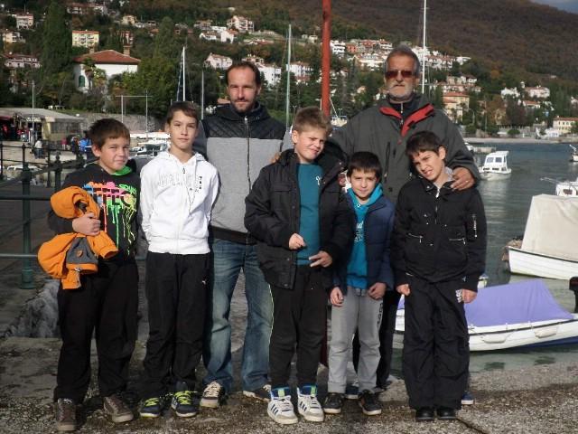 Lucijan Blašković iz DSRŠAV `Galeb` osvojio 2. mjesto na novogodišnjem ribolovnom KUP-u u Ičićima u svojoj kategoriji
