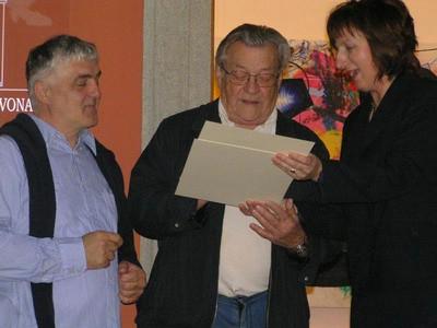 Izložba dva prijatelja Gorana Štimaca i Ivana Kožarić