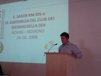 Lari Zahtila izabran za potpredsjednika kluba mladih IDS-a, Nenad Juričić član Predsjedništva