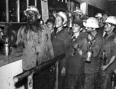 Pred osnivanjem udruga rudara Labinšćine